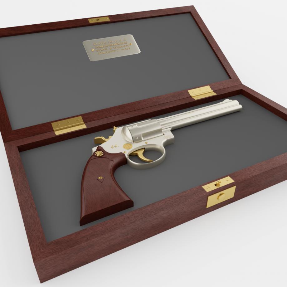 revolver s smith Wessonom